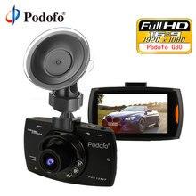 Podofo Mini Car DVR G30 Full HD 1080 P Della Macchina Fotografica Con Rilevazione di Movimento di Visione Notturna del G-Sensor Dashcam Registrar dash Cam Dvr
