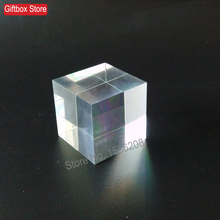 60mm thickness Clear Plexiglass Solid Display Block Acrylic Square Shaped Cubes Crafts