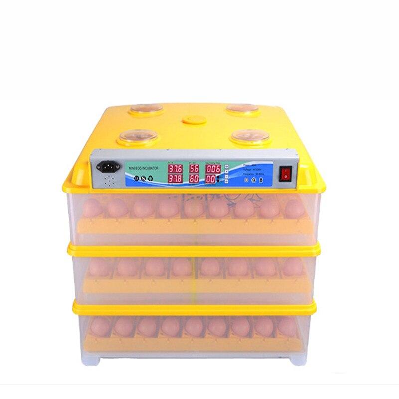UM 56/98 // 196/294 Ovos incubadoras incubadora incubadora de ovos totalmente automático Doméstico econômicos com ultrasonic umidificação 220 V 12 V