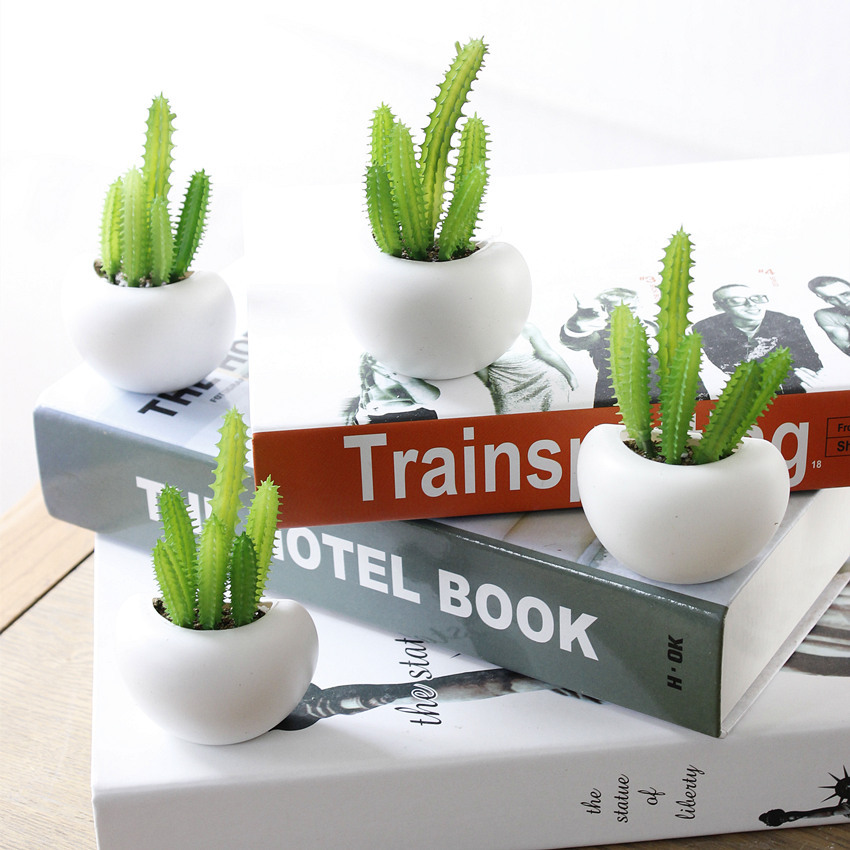 Bonsoplant Fridge Magnets Potted Artificial Green succulent Bonsai plants HTB1rr23niOYBuNjSsD4q6zSkFXaq fridge magnets