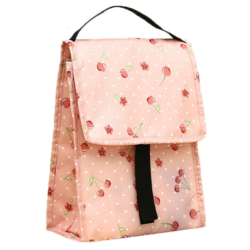 eTya New Insulated Lunch Bag Thermal For Women Kids Aluminum Tote Large Capacity Picnic Food Bags Cooler bag
