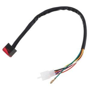 Image 5 - Uniwersalny czerwony LED cyfrowy wskaźnik biegów wyświetlacz motocykla dźwignia zmiany biegów czujnik 5 biegów wskaźnik zmiany biegów