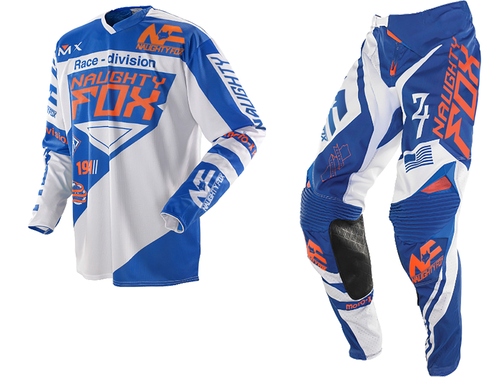 Racing 360 MX Gear Set Motocross ATV Dirt Bike Off-Road Race Gear Pant Jersey Combo Blue/WhiteRacing 360 MX Gear Set Motocross ATV Dirt Bike Off-Road Race Gear Pant Jersey Combo Blue/White