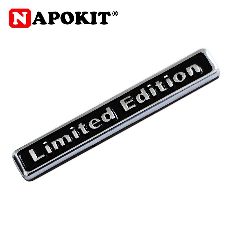 3D Metal Limited Edition Logo Auto Car Sticker Badge Decal Motorcycle Stickers Chrome Emblem For Suzuki Honda Kawasaki YAMAHA