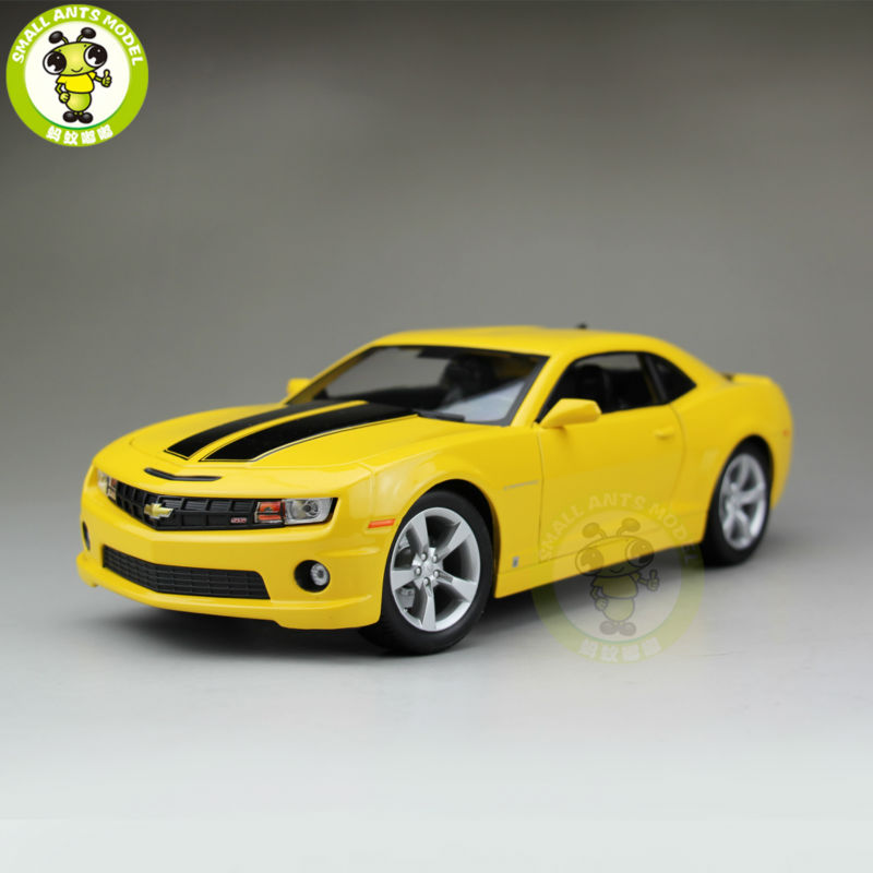 1 18 2010 Chevrolet CAMARO SS RS Diecast Model Car Maisto 31173 Yellow