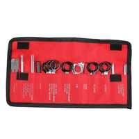 20 Pcs/Pack ensemble d'outils de retrait de Radio automatique de véhicule avec sac rouge ensemble de dispositif de démontage du son de voiture ensemble d'outils de Kit de clé de réparation automatique