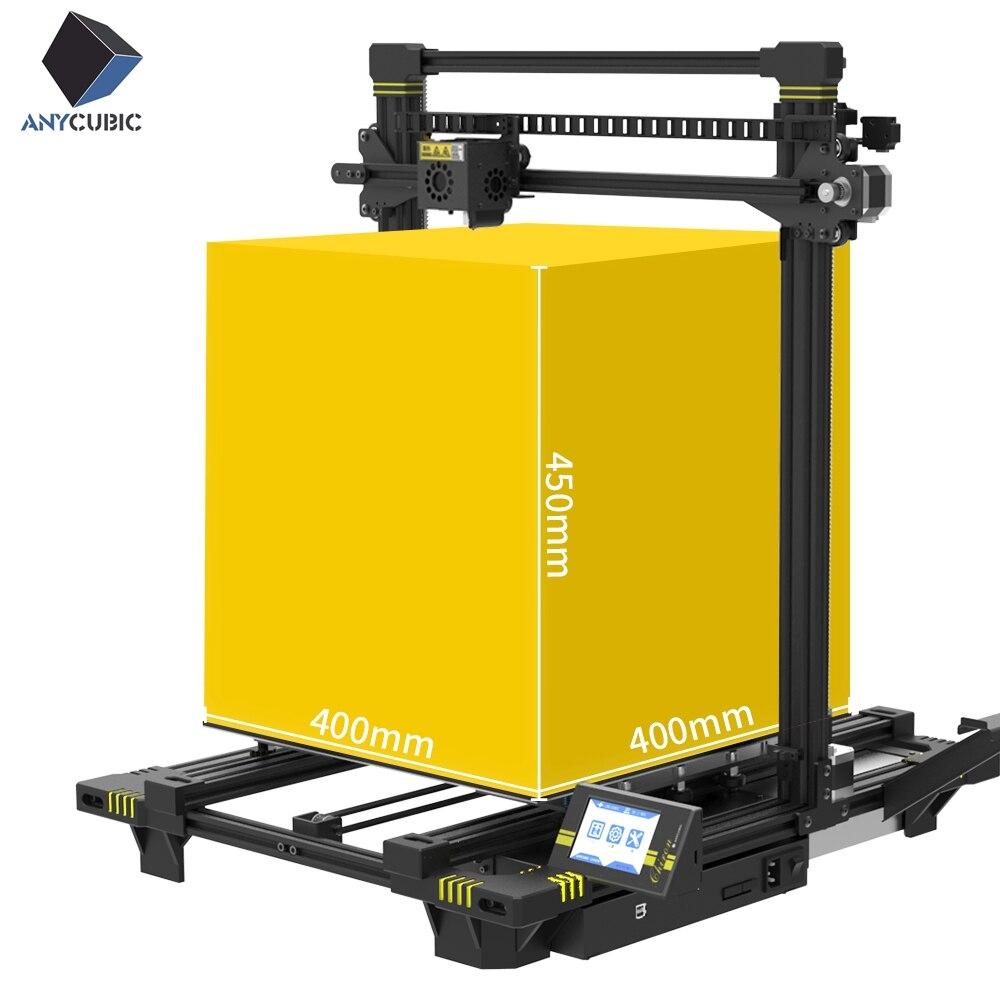 3-d-drucker Büroelektronik Anycubic Chiron 3d Drucker Plus Größe Ultrabase Titan Extruder Tft Touchscreen Riesige Bauen Volumen 3d Drucker Kit Impresora 3d