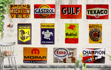 Metal Signs, Tin Signs for GAS Oil Man Cave/Garage Service Station  iron Paintings Wall Decor