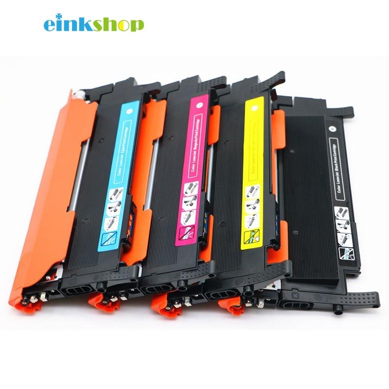 einkshop CLT K404S Toner Cartridge For Samsung C430 C430W C433W C480 C480FN C480FW C480W CLT K404S CLT Y404S CLT M404S CLT C404S