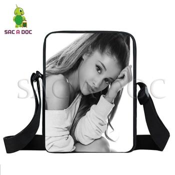 Sac A Doc Ariana Grande Mini Messenger Bags Boys Girls School Shoulder Bag Ariana Grande Handbag Women Men Crossbody Travel Bags фото