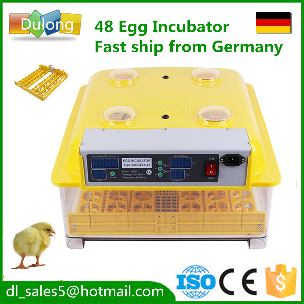 Fast ship from germany ! Cheap 48  Egg Incubator hatcher hatching machine for chicken duck quail parrot fast ship from germany cheap 48 egg incubator hatcher hatching machine for chicken duck quail parrot