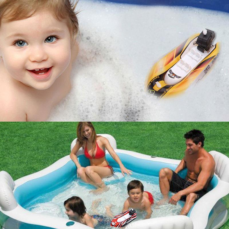 Baby Speedboat Bath Toys Clockwork Racing Boat Toys For Bath In Bathroom Beach Pool Kids Inflation Speedboat Bath Toy