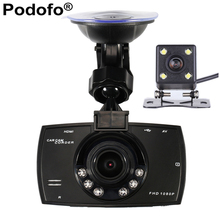 Car Camera Dual Lens 1080P Video Recorder Car DVRs Registrator With WDR Rear Back Car Camera Night Vision Black Box Dash Cam G30