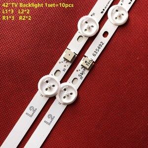 Image 3 - LED Backlight strip For LG 42inch ROW2.1 TV 42LN5400 42LN542V 42LN575S 42LA615 6916L 1412A 6916L 1413A 6916L 1414A 6916L 1415A