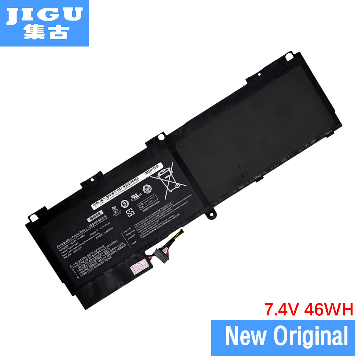 JIGU AAPLAN6AR AA-PLAN6AR Original Laptop Battery For SAMSUNG 900X1AA01US 900X3A-01IT B04CH NP900X3A 900X1BA03 SERIES