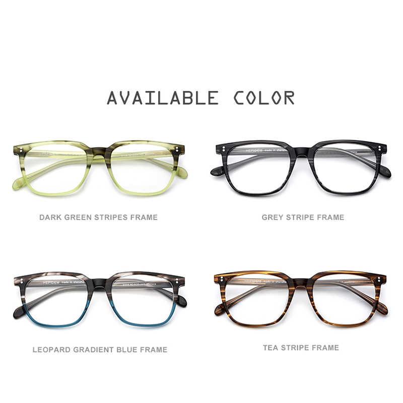 b12ddfdefa ... Montura de gafas de acetato para hombre, gafas cuadradas con  prescripción, 2019 nuevas gafas ...