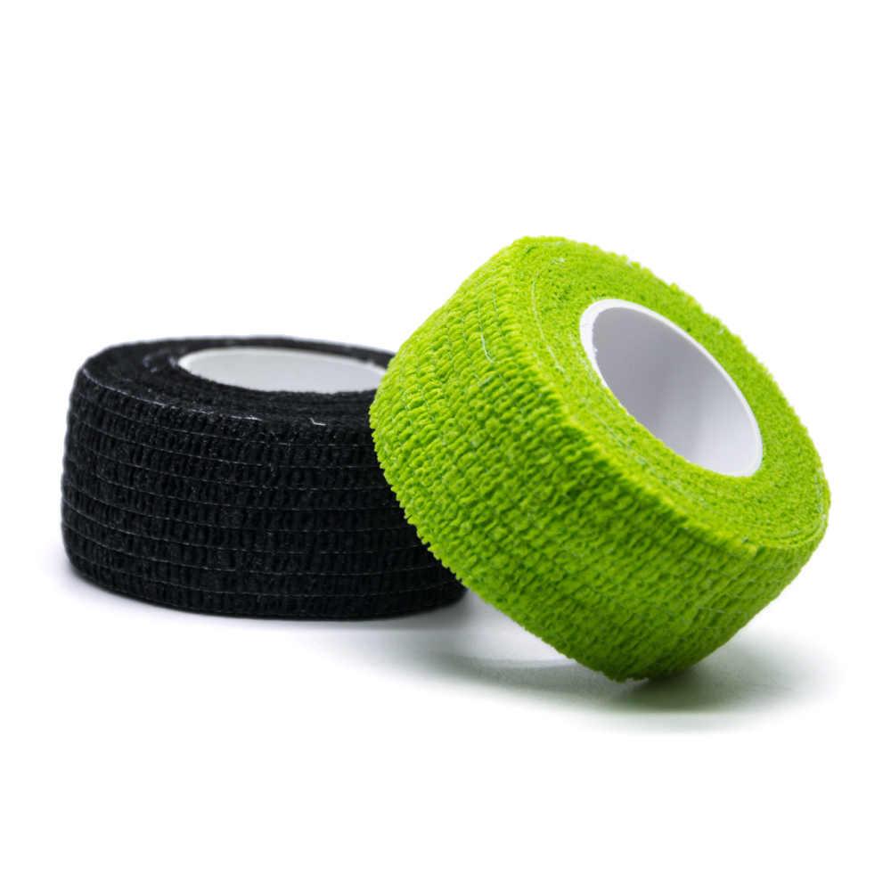 1 pçs auto-adesivo estiramento bandagem cuidados médicos gaze banda cor aleatória impermeável respirável c1435