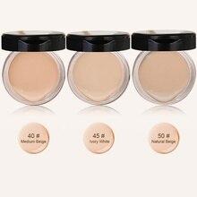 1pcs Women Face Base Liquid Foundation Cream Makeup 3 Colors Face Camouflage Concealer Whitening Oil-Control Cosmetics xgrj