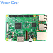 Best price Original Raspberry Pi 3 Model B 1GB LPDDR2 BCM2837 Quad-Core Ras PI3 Modelo B with WiFi Bluetooth RS Version Made in UK