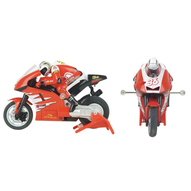 Creat Mini Moto Rc Motorcycle Electric High Speed Nitro Remote Control Car Recharge 2.4Ghz Racing Motorbike Of Boy Toy Gift 1