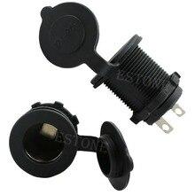 B86″ Free Shipping New Free Shipping Waterproof 12-24 v Accessory Power Socket Car Motorcycle Cigarette Lighter Plug JUN12