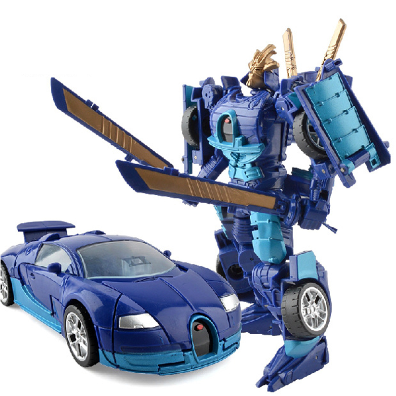 I Set DIY Deformation Robot Toys Classic Transformation Plastic Robot Cars Action Figures Toys for Kids Education Gifts hot sale transformation devastator metal part kbb mp10 v optimus prime figure classic toys robot cars for kids christmas gifts