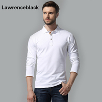 Long Sleeve Polos Male Famous Brand Casual Polo Homme Trend Breathable Casual Camiseta Slim Fit Solid