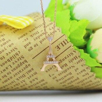 LASAMERO Halo 0.057CT 18k Gold Round Cut Square Center Pave Set Natural Diamond Pendant Necklace Chain Women Fine Jewelry 4