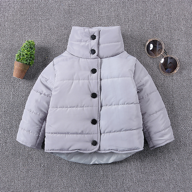 Boys Winter 95% Cotton Jacket 2017 New Brand Kids Girls Long Sleeve WindProof Coat Children's Clothing Down Warm Outerwear 1-6Y boys winter jacket 2016 new brand hooded kids girls winter coat long sleeve windproof children down coat outwear warm 4 12 years