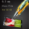 New Arrived 0.3mm High Quality Tempered Glass Screen Protector For Lg G2 D802 Film