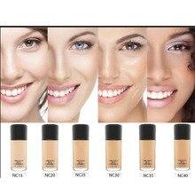 Жидкая основа для макияжа лица 30 мл SPF 15 и насос luxry 6 цветов Выберите косметику