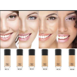 Face Makeup Fluid Foundation Make Up 30ml SPF 15 and Pump luxry 6 Color Choose Cosmetics