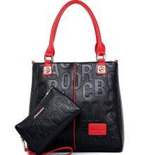 حقيبة العلامة التجارية الفاخرة 2020 حقيبة يد نسائية أنيقة خمر تنقش كيس زهور حقيبة كتف المرأة جلدية كبيرة محفظة حمل X398