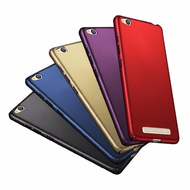 online retailer 4c373 c11db US $0.8 23% OFF|Fashion Luxury Case For Xiaomi Redmi 4A 360 Full Nice Hard  PC Plain Back Cover Case For Xiaomi Redmi A4 4A Pro Phone Case 5.0
