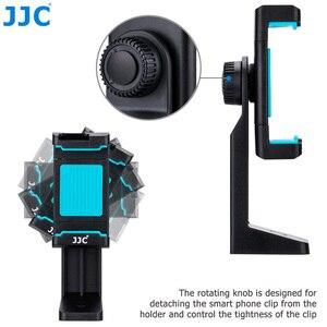 Image 4 - JJC Móvil Soporte 56 105mm Ajustable Clip con Zapata Teléfonos Titular Autofoto Palillo para el iphone/HUAWEI/MI/Samsung