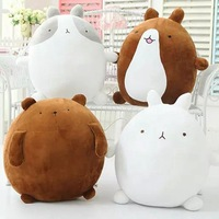 Big size 55cm Cute Molang Rabbit potatoes bear Plush Toy Stuffed Rabbit Molang Teddy Bear Doll Kids Toy Girl's Christmas Gifts