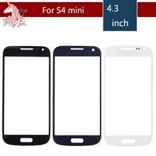цены на 10pcs/lot High Quality For Samsung Galaxy S4 mini i9190 i9195 i9192  Front Outer Glass Lens Touch Screen Panel Replacement  в интернет-магазинах