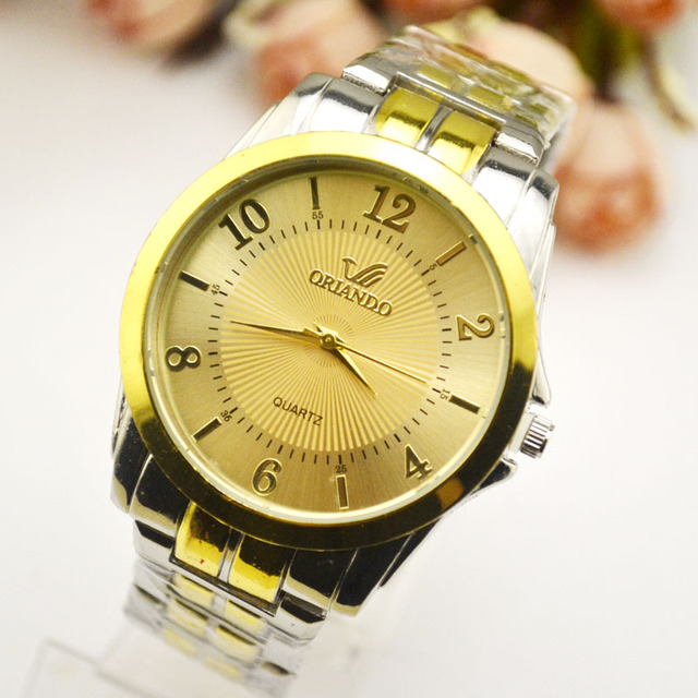 Korean Korean Version Of Ultra-thin Fashion Watch Men's Steel Band Quartz Watch