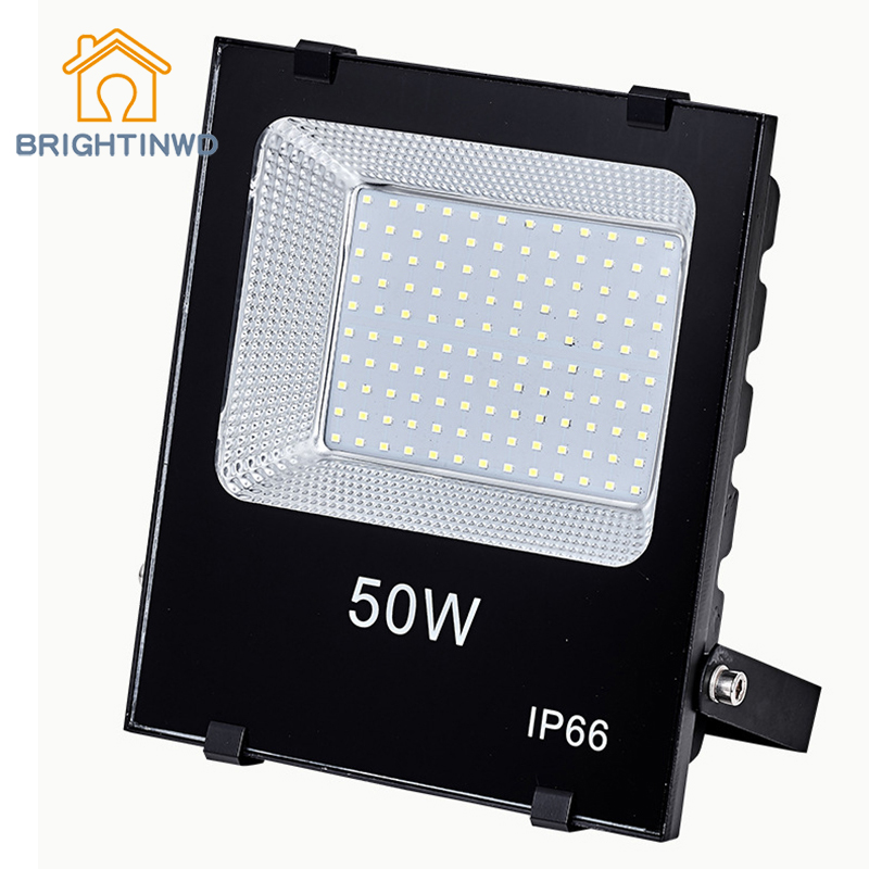 BRIGHTINWD LED Floodlights Outdoor 30W50W Low Energy Consumption IP66 for Square Park Factory Garden Lighting