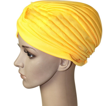 2018 جديد أزياء المرأة الحجاب العمامة حك كاب قبعة الإسلامية الصلبة قبعة قبعات الهندي مسلم المرأة قبعة الجملة ودروبشيبينغ 2