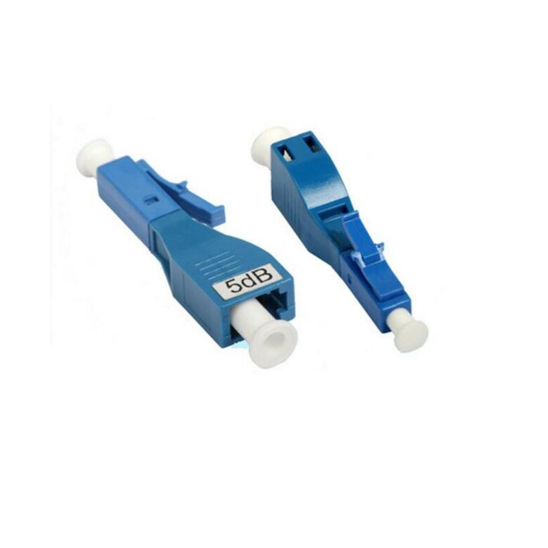 5PCS/bag LC UPC female to male 15dB fiber optic Attenuator LC UPC female male Fiber Optic Attenuator Free shipping