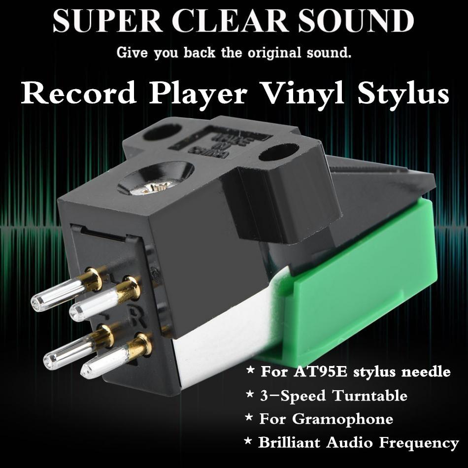 Rekord Nadel Player Stylus 3 Geschwindigkeit 13mm Pitch Rekord Patrone Hohe Qualität Vinyl Stylus Für At95e Up-To-Date-Styling Unterhaltungselektronik