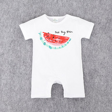 Lovely Watermelon Baby Jumpsuit