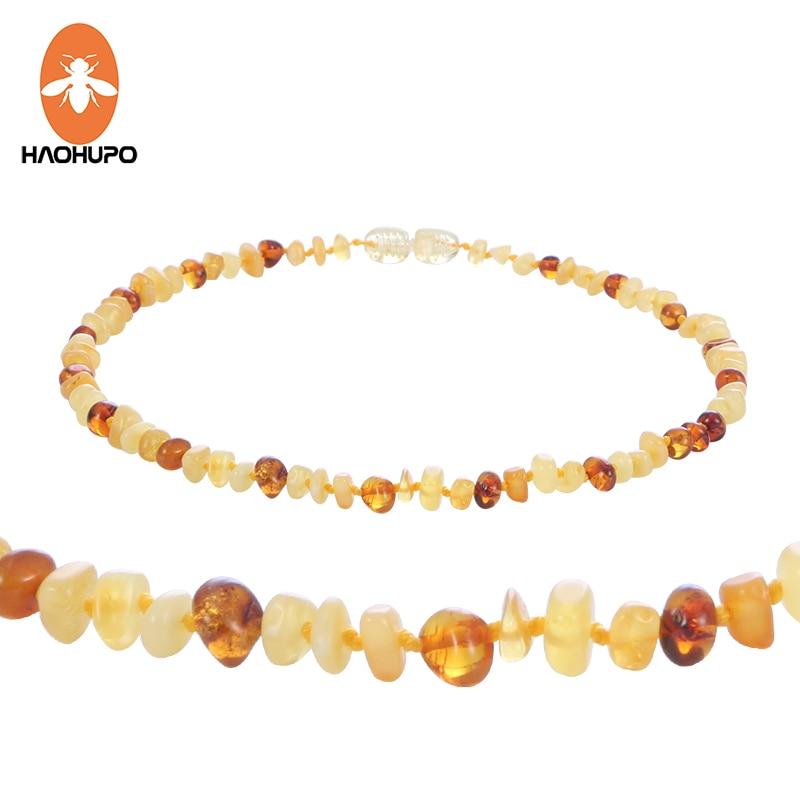 HAOHUPO Collar de ámbar natural Certificado de suministro - Joyas - foto 6