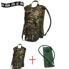 цена Hot sell  Outdoor 3L Hydration backpack outdoor camping climbing hiking water bladder hydration water bag tactical water bag в интернет-магазинах