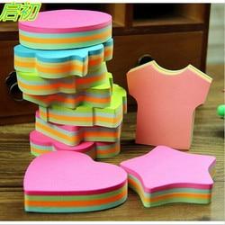 Nova loja de artigos de papelaria mini almofadas de memorando kawaii notas pegajosas material de escritório escola adorável adesivos doces cor post it