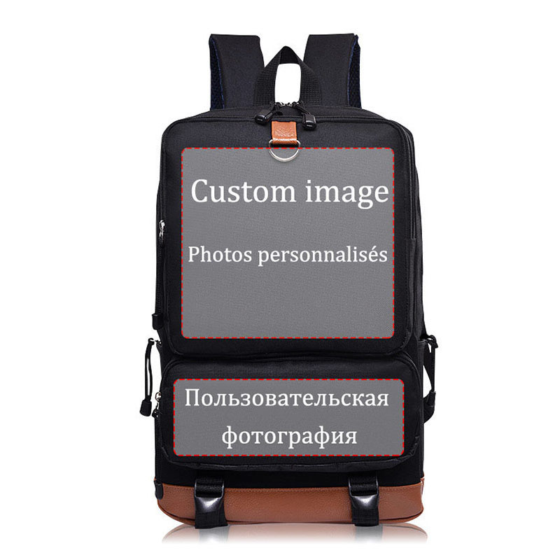 Wholesale Fashion Custom Backpacks for Teenagers faded electronic Music school bags candy color mochila book bags-in Backpacks from Luggage & Bags    1