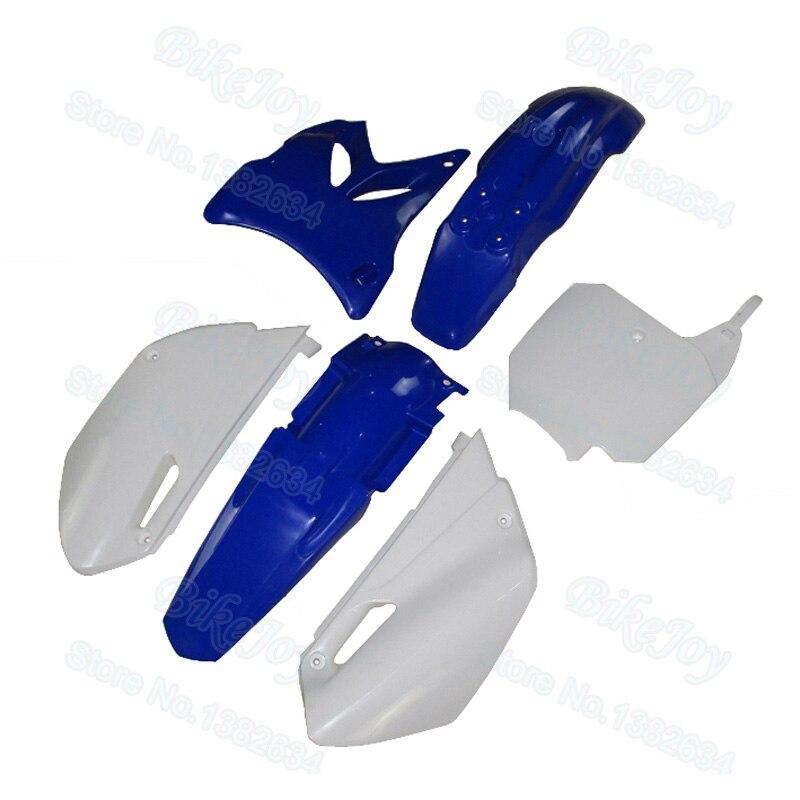 Plastic Fender Fairing Body Kit Blue For Dirt Bike Yamaha YZ85 2002 2014 Motorcycle
