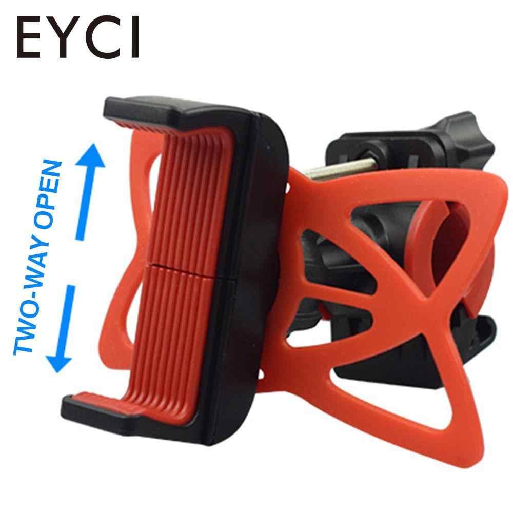 Регулируемый 360 градусов велосипедный силиконовый держатель телефона Мотоцикл Велосипед Руль Универсальный крепитель для смартфона для GPS навигация для велосипеда