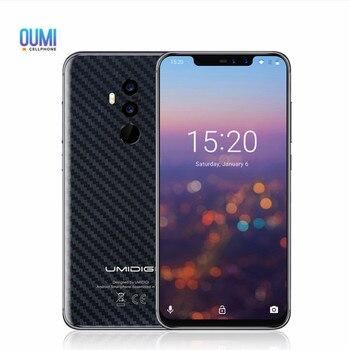 UMIDIGI Z2 4G Smartphone 6.2 Helio P23 MT6763T Octa Core 4GB RAM 64GB ROM 16.0MP+8.0MP Back-camera 3850mAh Free Gifts Cellphone smartphone